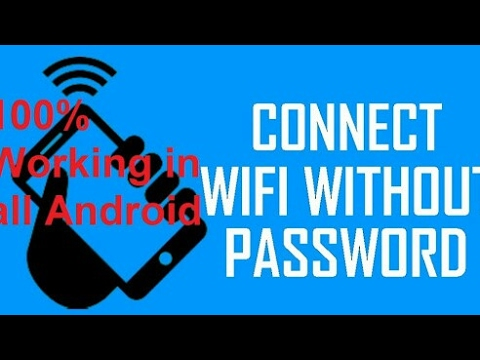 Wifi Connect Without Password 100% Working