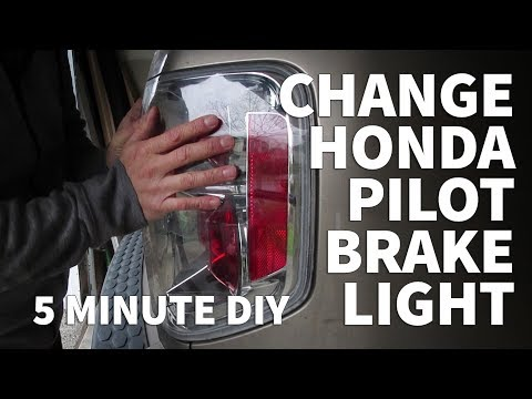 Honda Pilot Brake Light Replacement –Install Replace Change Tail Light Assembly 2003-08 Honda Pilot