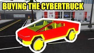 BUYING the TESLA CYBERTRUCK... | Roblox Vehicle Simulator