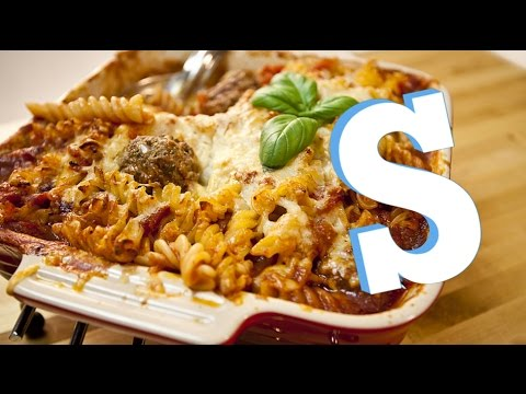 Meatball Pasta Bake Recipe - SORTED