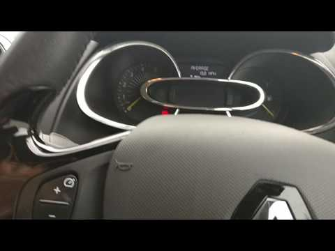 Renault Clio spanner service light reset