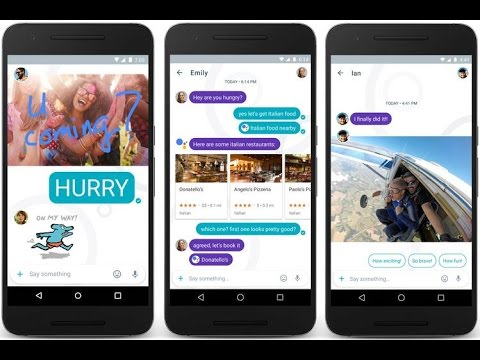 Allo - Google's New Messaging App Features