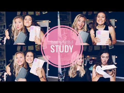 SUMMER BIBLE STUDY! Live out Your Faith | Christian Youtubers | #3