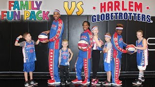 Download Family Fun Pack vs the Globetrotters!! Kids Join Professional Basketball Team Video