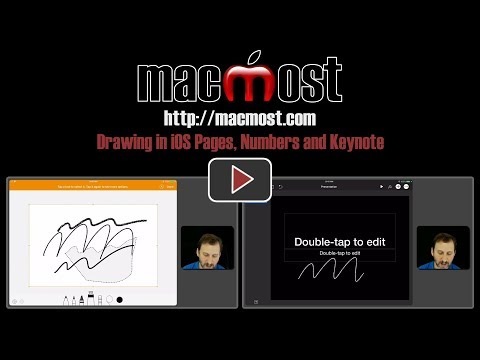Drawing in iOS Pages, Numbers and Keynote (#1629)
