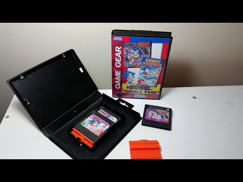 Custom Case for Game Gear Games using a  Genesis/MegaDrive Box