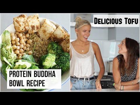 HOW TO MAKE THE BEST TOFU EVER! High Protein Vegan Buddha Bowl Recipe