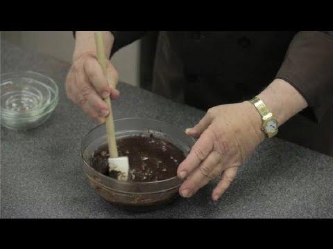How to Make a Simple Chocolate Ganache : Chocolate Truffles & Ganache