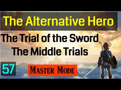 Master Mode Breath of the  Wild - The Trial of the Sword - The Dark Rounds  057