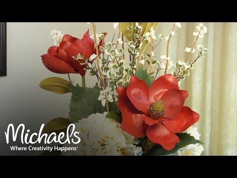 DIY: Beginners Guide to Floral Arrangements | Floral Design | Michaels