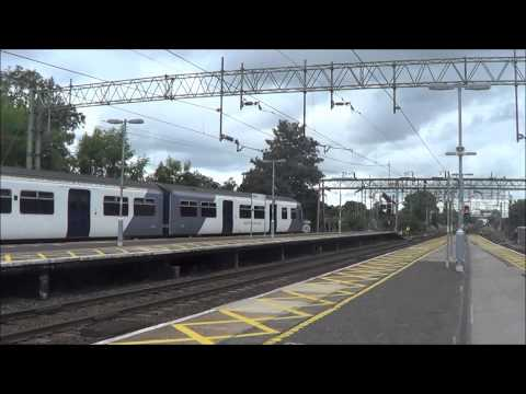 Trains at Colchester, Marks Tey and Witham 30/8/14
