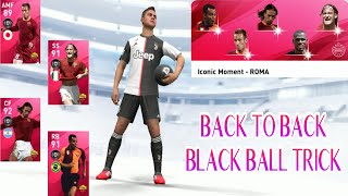 BLACK BALL TRICK IN AS ROMA ICONIC MOMENT || I GET PAULO DYBALA - PES 2020 MOBILE