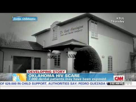 HIV Scare At Dental Office In Tulsa Where 7,000 Patients May Be Affected