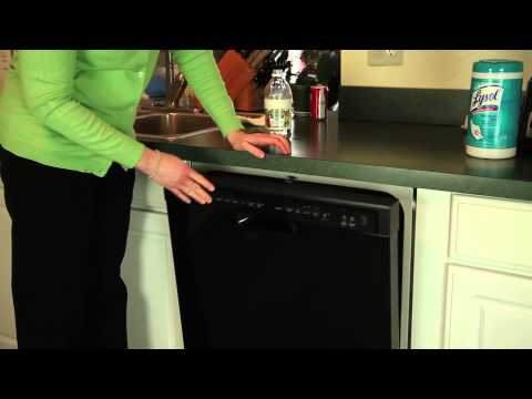 How to Clean a Dishwasher With Vinegar : Cleanliness & Safety