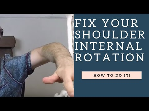 FIX Shoulder Internal Rotation & Mobility With These Stretches (How To Demo!)