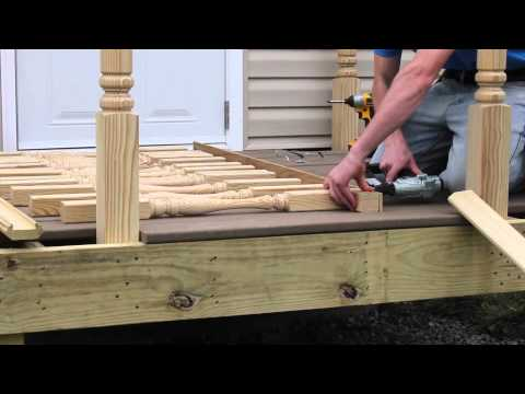 How to Install Deck Spindles from S&L Spindles