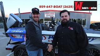 Jacob Wheeler Picks Up His New Boat