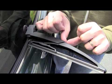 MINI Cooper Rear Wiper Blade Replacement Video
