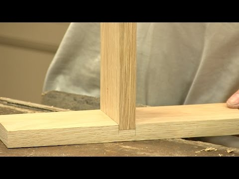 How to make a Housing Dado Joint - The Three Joints - | Paul Sellers