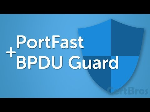 PortFast + BPDU Guard | STP Optional Features