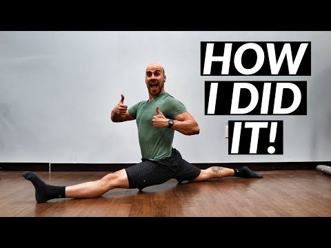 HOW I GOT THE SPLITS IN AN HOUR!