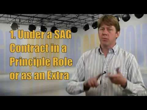 How To Join SAG (The Old Fashioned Way)