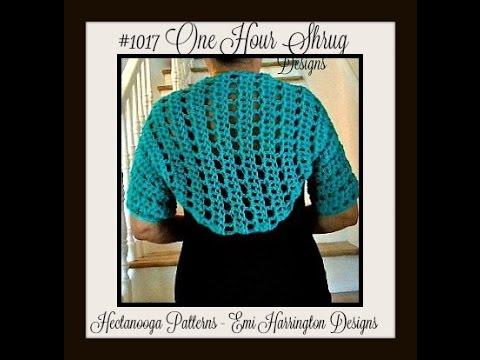How to crochet a shrug, Teal Green shrug, easy basic shrug, free crochet pattern