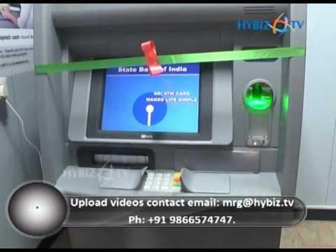 How to Deposit cash in SBI Cash Deposit Machine - hybiz