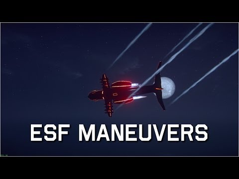 PlanetSide 2 ESF Tutorials: Simple Maneuvers - Simple Reverse Maneuver