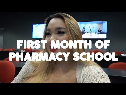 FIRST MONTH OF PHARMACY SCHOOL