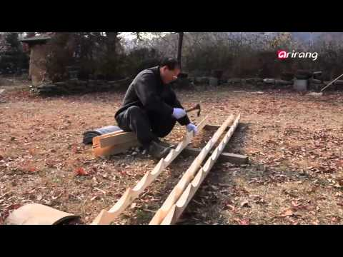 Arirang Special - M60Ep247C06 How to Make Korean Traditional Roof Tiles?