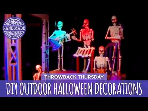 DIY Outdoor Halloween Decorations - Throwback Thursday - HGTV Handmade