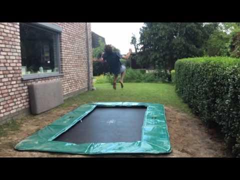 New in ground trampoline !!!