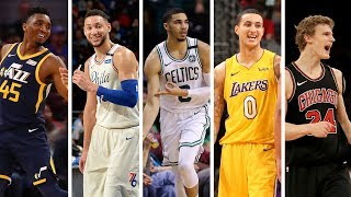 Nba 1st Team All Rookie | Best Plays From Donovan Mitchell, Jayson Tatum, Ben Simmons   More