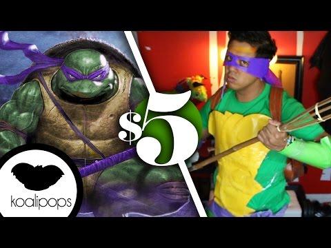 TMNT Donatello | 5$ Costume | How to