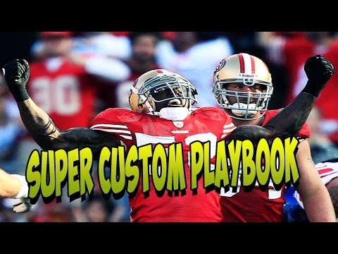 Madden 15 | Super Custom Playbook | Rush attack Offense | Madden 15 Gameplay