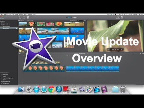 New iMovie Update Overview | Version 10.0 | Late 2013 Update