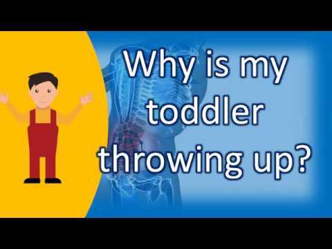 Why is my toddler throwing up ? |Healthy Living FAQs