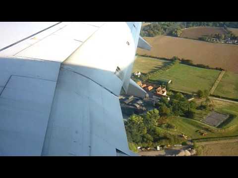 Ryanair 738 landing@london stansted