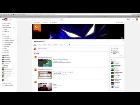 How to change your Youtube Channel layout (QUICK AND EASY)