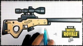Tuto Dessin Sniper Fortnite