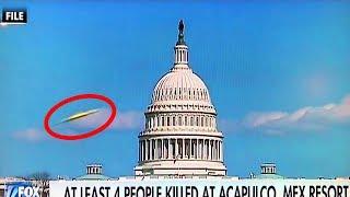 19 UFO Sightings Caught on Live TV