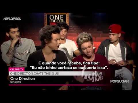 Legendado: One Direction em entrevista ao PopSugar |