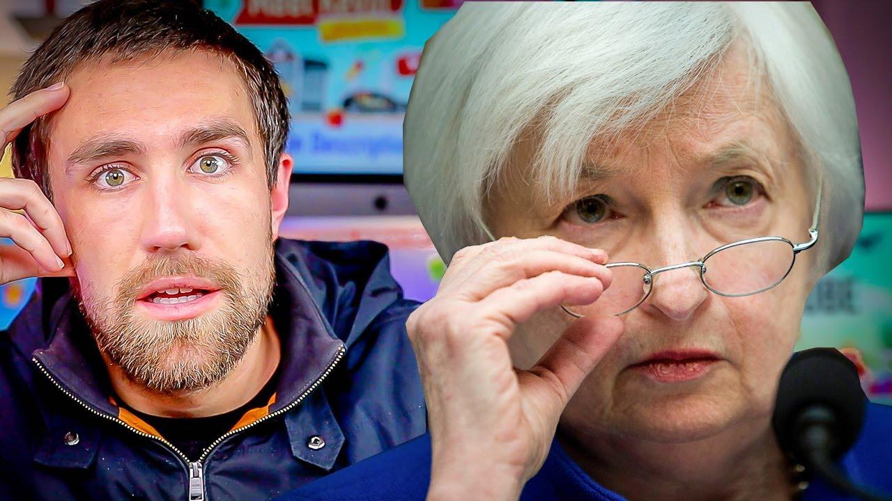 What Janet Yellen JUST Said [Stimulus Checks, BTC, Rates]