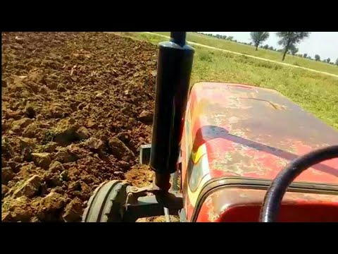 How to drive Tractor in farm in hindi