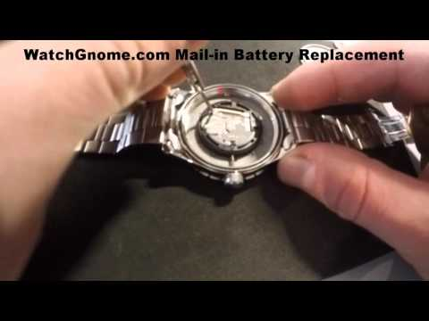 Swiss Army Watch Battery Replacement - Men's Watch