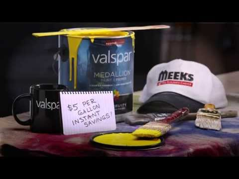 Valspar Medallion Paint at Meek's