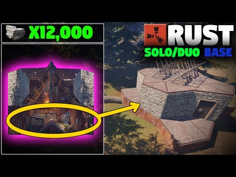 STRONG SUPER CHEAP Expandable Solo Base Design | (Layout) Rust Base Building