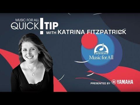 Quick Tip with Katrina Fitzpatrick