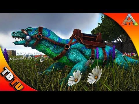 Ark: Survival Evolved Mutation Zoo E3 - FULLY MUTATED MEGALANIA! MEGALANIA BREEDING AND MUTATIONS
